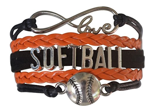 (Infinity Collection Softball Bracelet- Softball Jewelry - (12 Styles) Perfect Softball Player, Team and Coaches Gifts)