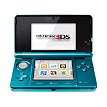 Nintendo 3DS - Aqua Blue - Standard Edition