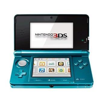 Nintendo 3DS - Color Azul Aqua [Importación inglesa]: Amazon ...