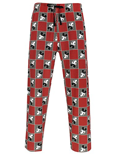 Disney Mickey Mouse Mens Mickey Mouse Lounge Pants Medium by Disney