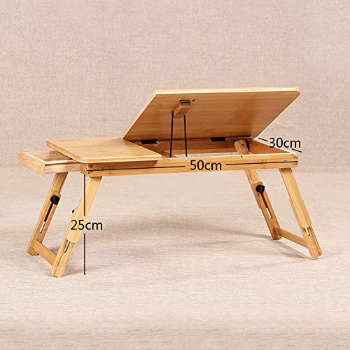 Qinkdesk Laptop Mesa portátil Multifunción Plegable Notebook ...