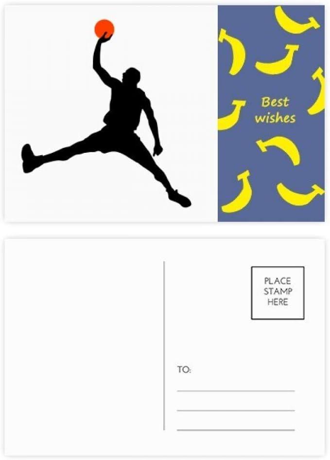 DIYthinker Mate de baloncesto Baloncesto Correr plátano tarjetas ...