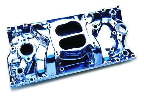 Professional Products 52006 Polished Cyclone Intake Manifold for Small Block Chevy Vortec