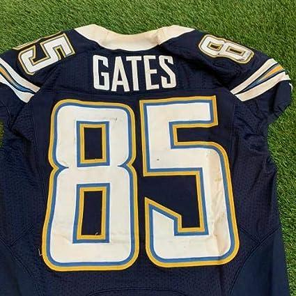 Antonio Gates San Diego Chargers Game Used Worn Jersey Photo ...