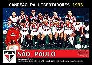 Pôster A4 - São Paulo Campeão Libertadores 1993