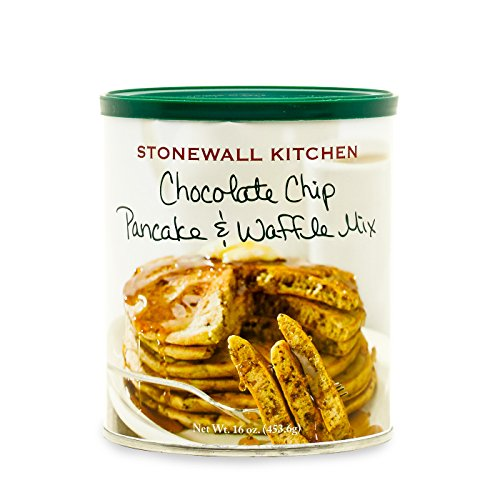 Stonewall Kitchen Chocolate Chip Pancake and Waffle Mix, 16 Ounce Can ()