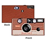 5 Pack Reproduction of the original Kodak Brownie Camera. Vintage Disposabe Camera, Wedding Camera, Anniversary Camera, Sweet 16, Quinceañera, party cameras from CustomCameraCollection WM-68035-C