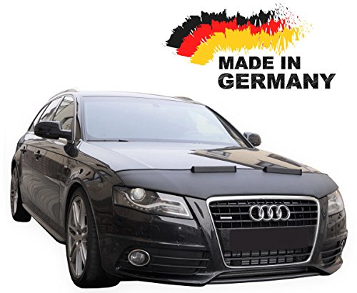 Hood Bra Audi A4 B8 A5 8T Bonnet Car Bra Front End Cover Nose Mask Stoneguard Protector (Audi A5 Tuning)