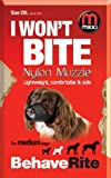 Mikki Dog Friendly Training Muzzle Easy Fit For Medium Dogs - Size 2 XL