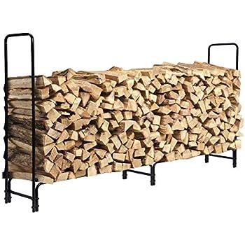 decorative indoor firewood rack outdoor fireplace wood.htm amazon com himal outdoor firewood racks cover log rack  himal outdoor firewood racks cover log