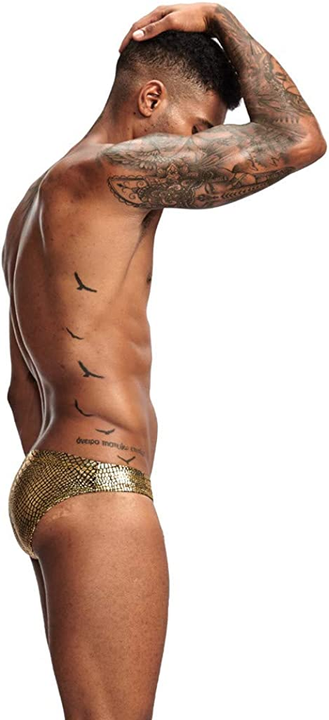 KOLY Costumi da Bagno da Uomo Slip Bikini Boxer da Bagno Surf Spiaggia Mare Pantaloncini Beachwear