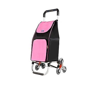 5e90b73d263b RKY Small Pull Cart Hand Truck Trolley Folding Portable Climbing ...