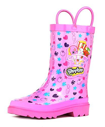 rain boots girls size 2 - 4