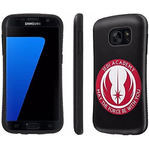 Galaxy [S7] Tough Designer Case [SlickCandy] [Black Bumper] Ultra Shock Absorbent - [Jedi Academy] for Samsung Galaxy S7 / GS7 Sales