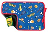 AM PM Kids! Reversible Placemat/Chalkboard, Sports