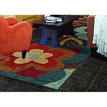 Amazon Com Mohawk Home Strata Ayanna Floral Printed Area