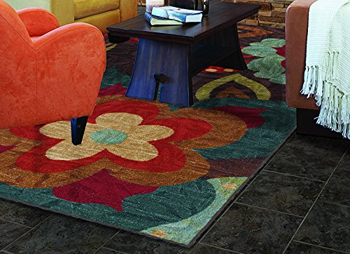 Mohawk Home Strata Ayanna Kaleidoscope Rug, 8'x10'- Family Room Ideas - Make quick & easy changes to any room in your home in minutes by changing the rug - add color & patterns