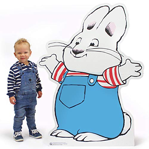 Max of Max and Ruby Birthday Party Supplies For Room Decorations & Events - Easy to Assemble, H45