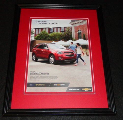 2015 Chevrolet Equinox Framed 11x14 ORIGINAL -