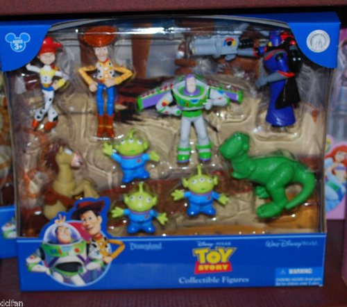 Disney Toy Story Buzz Woody Jessie Cake Topper Playset [Disney Theme Park Exclusive] by Disney (Image #1)