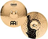 Meinl Cymbals CC14MH-B Classics Custom 14-Inch Brilliant Medium Hi Hat (VIDEO)