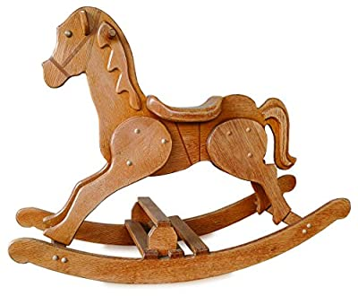 Build-Your-Own Large Rocking Horse Plan - American Furniture Design from American Furniture Design Co.