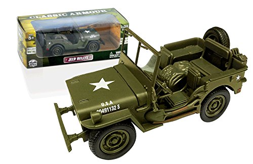 (Classic Armour - Willys Jeep 1:32 Scale)