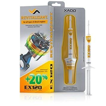 Aditivo para aceite del motor EX120 de XADO, con Revitalizant® para motores diésel, protección para prevenir las reparaciones y el desgaste: Amazon.es: ...