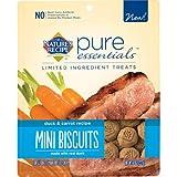 Nature's Recipe Pure Essentials Mini Biscuits - Duck & Carrot Recipe - 8 oz