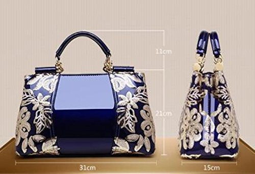 Women's Handbags Casual White Portable Fashion Fashion Portable Leather Women's qfq4rFg