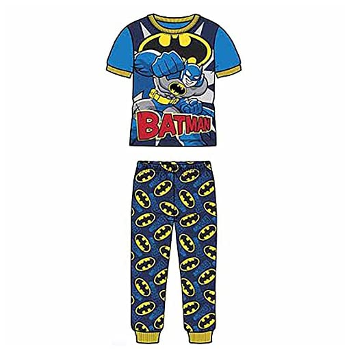 Batman-Boys-2-Piece-Pajama-Set-Size-4