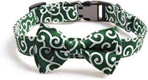 PetFavorites Ninja Bowtie Cat Dog Collar - Cute Japanese Bow Tie Collar for Small Medium Large Dogs, Soft and Adjustable
