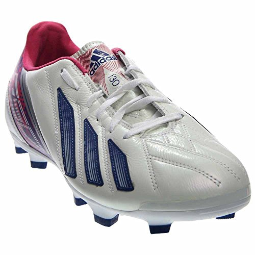 adidas Womens F30 TRX FG Soccer Shoes (White/Ink/Pink) 7.5 by adidas