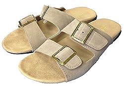 J-41 Women's Pingree Tan / Taupe Summer Sandals (8.5)