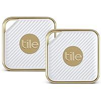 Tile–Key Finder. Teléfono Finder. Nada Finder, Estilo, Paquete de 2, Dorado