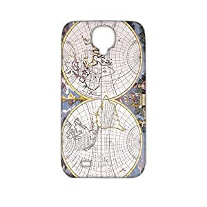 3D Case Cover Antique Maps Old World Vintage Maps Phone Case for Samsung Galaxy s 4