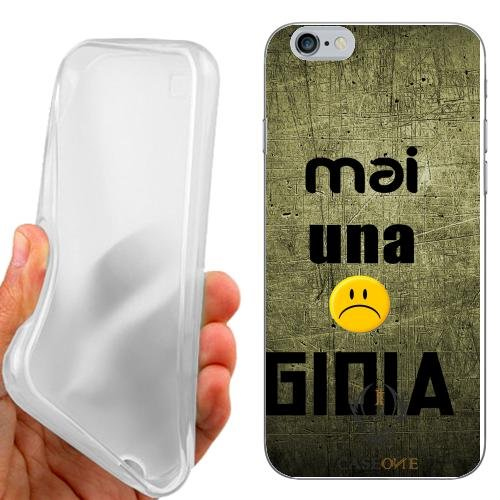 CUSTODIA COVER CASE MAI UNA GIOIA PER IPHONE 6 4.7 POLLICI