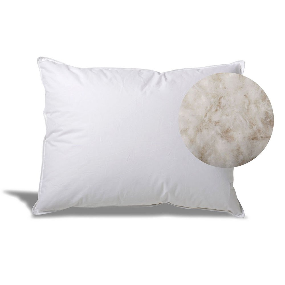 eLuxurySupply Hotel White Goose Down Pillow, Queen