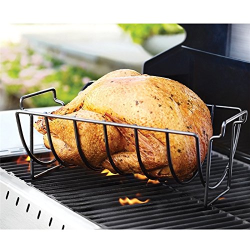 Non-Stick Stainless Steel BBQ Tools Steak Holders Rack Grill