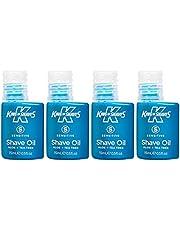 Rey de afeita 15 ml de aceite afeitado delicado quad-pack