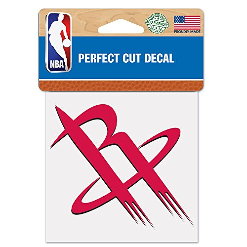 """Wincraft NBA Houston Rockets Perfect Cut Color Decal, 4"""" x 4"""""""