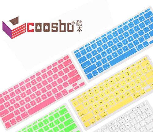 [해외]쿠스코 - 유럽 버전 영어 실리콘 키보드 커버 스킨 13 15 17 인치 맥북 에어 프로 레티 나와 이삭 G6 보호/Coosbo - Europe version English Silicone Keyboard Cover Skin Protective for 13  15  17 inch Mac Book Air Pro Retina and Imac G6