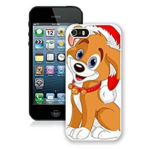 2014 Newest For Htc One M9 Phone Case Cover Protective Cover Case Christmas Dog For Htc One M9 Phone Case Cover PC Case 21 White