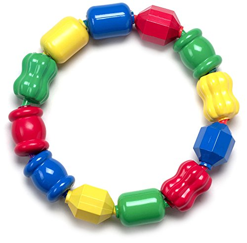 Fisher-Price Snap Lock Bead Shapes, 12 Colorful Beads ()