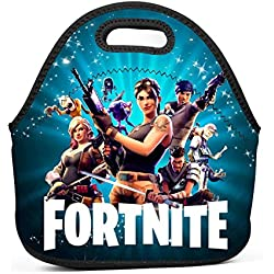 FortGame Heros Insulated Lunch Bag Lunch Box Waterproof Lunch Tote Bag for Men Women Students