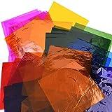 104 Pieces Cello Sheets Cellophane Wraps, 8 by 8
