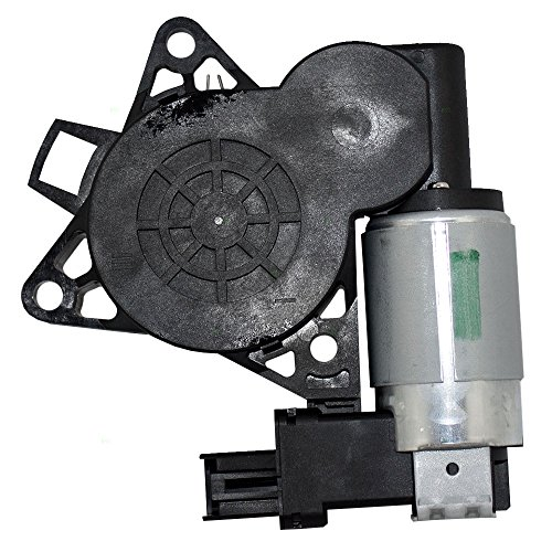 Power Window Lift Regulator Motor & 2 Pin Connector Replacement for Mazda 3 5 6 CX-7 CX-9 RX-8 GJ6A5858XC (05 Mazda 3 Window Motor)