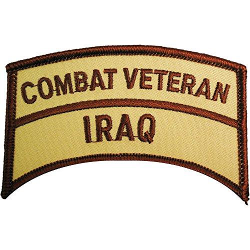 Iraq Combat Veteran Patch Brown 3
