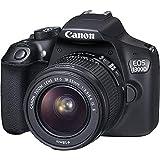 Canon EOS 1300D - Fotocamera Reflex + Obiettivo EF-S 18-55 mm IS II - Nero