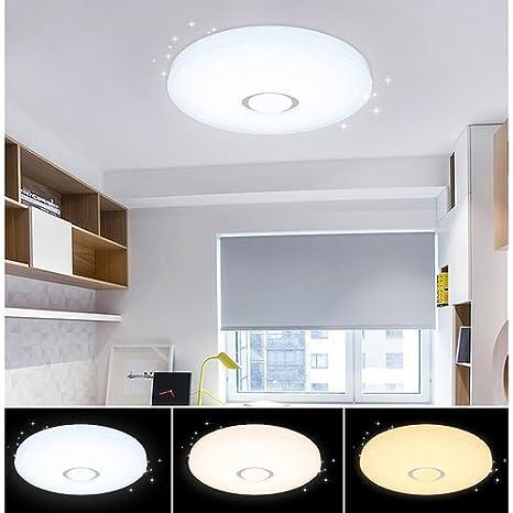 VGO® LED Starlight Effekt Deckenlampe 60W Kinderzimmer Wand-Deckenleuchte  Farbwechselfunktion Flurleuchte 550*112mm Panel Lampe Badezimmer geeignet